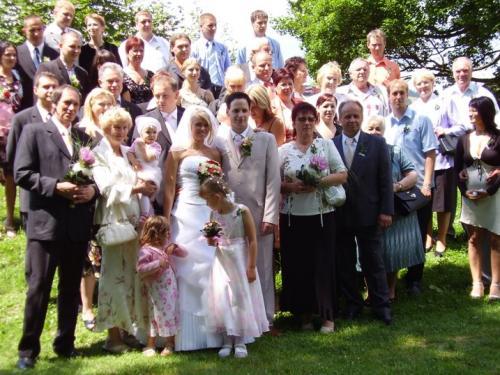 Svatba Řihákovi 5.7.2008