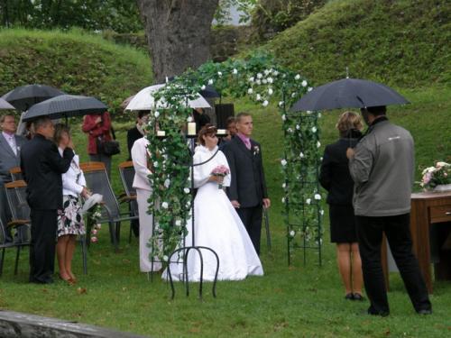 Svatba Krejza Soukupová 4.9.2010