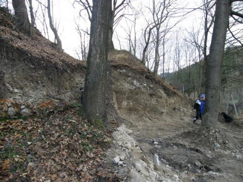 Archeoprůzkum sev. opevnění 11.2010