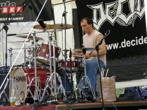Rockové hradby den1 10.6.2011