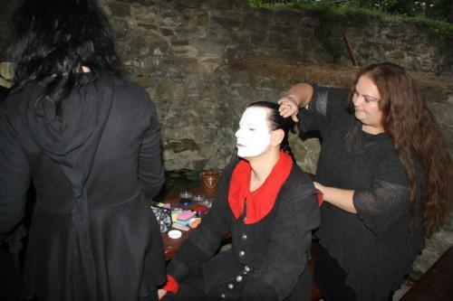 Strašidelné panoptikum na hradě Brumově 15.9.2012